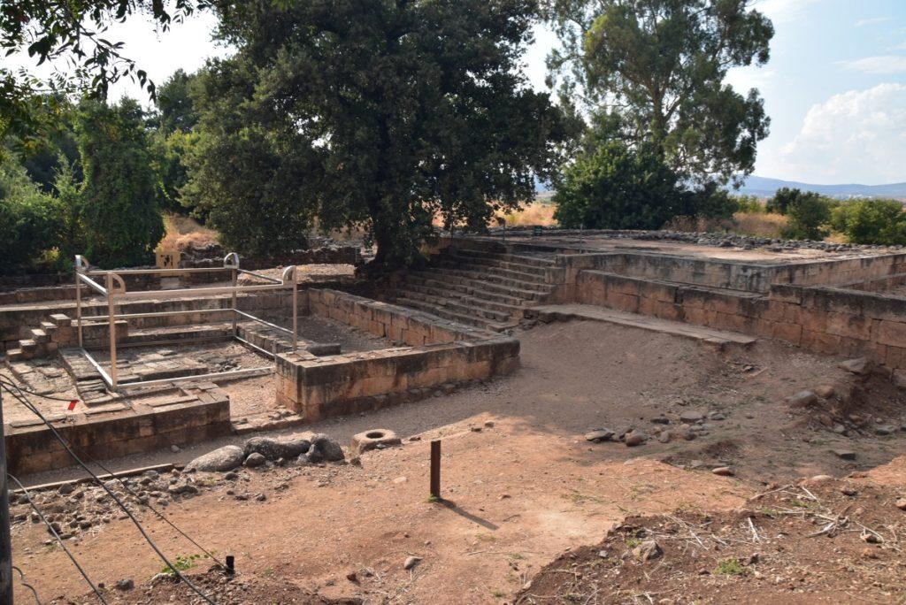 Tel Dan Sept 2019 Biblical Israel Tour with John DeLancey
