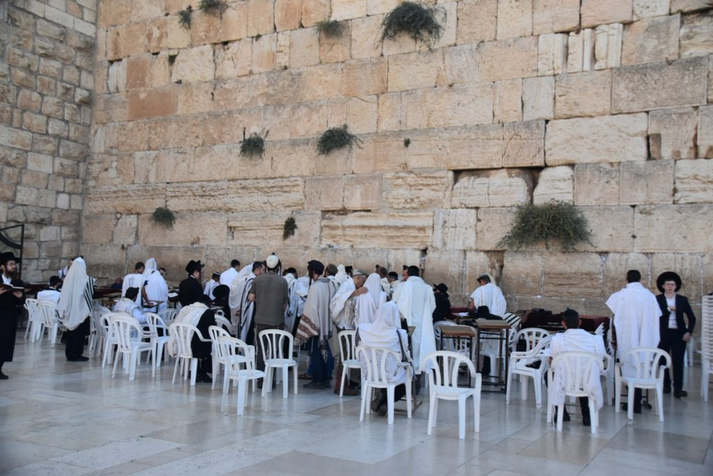 Western Wall Sept 2019 Biblical Israel Tour with John DeLancey