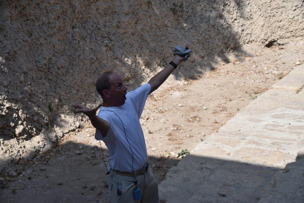 City of David Pool of Siloam Jerusalem Sept 2019 Biblical Israel Tour with John DeLancey