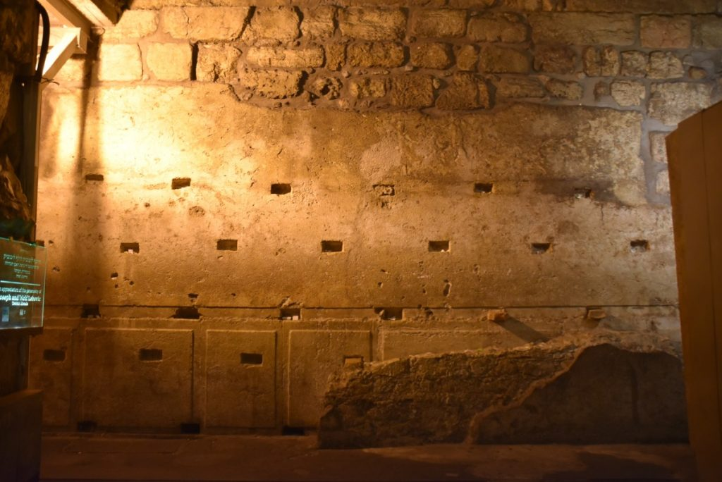 Western Wall Tunnel Sept 2019 Biblical Israel Tour with John DeLancey