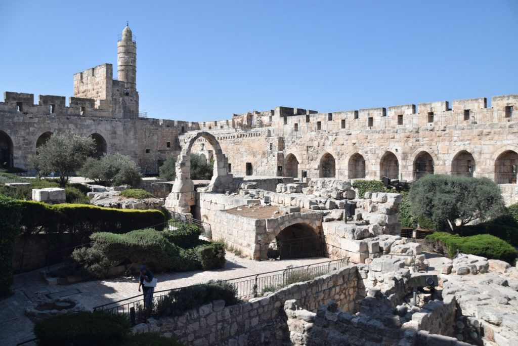 David's Citadel - Herod's Palace Sept 2019 Biblical Israel Tour with John DeLancey