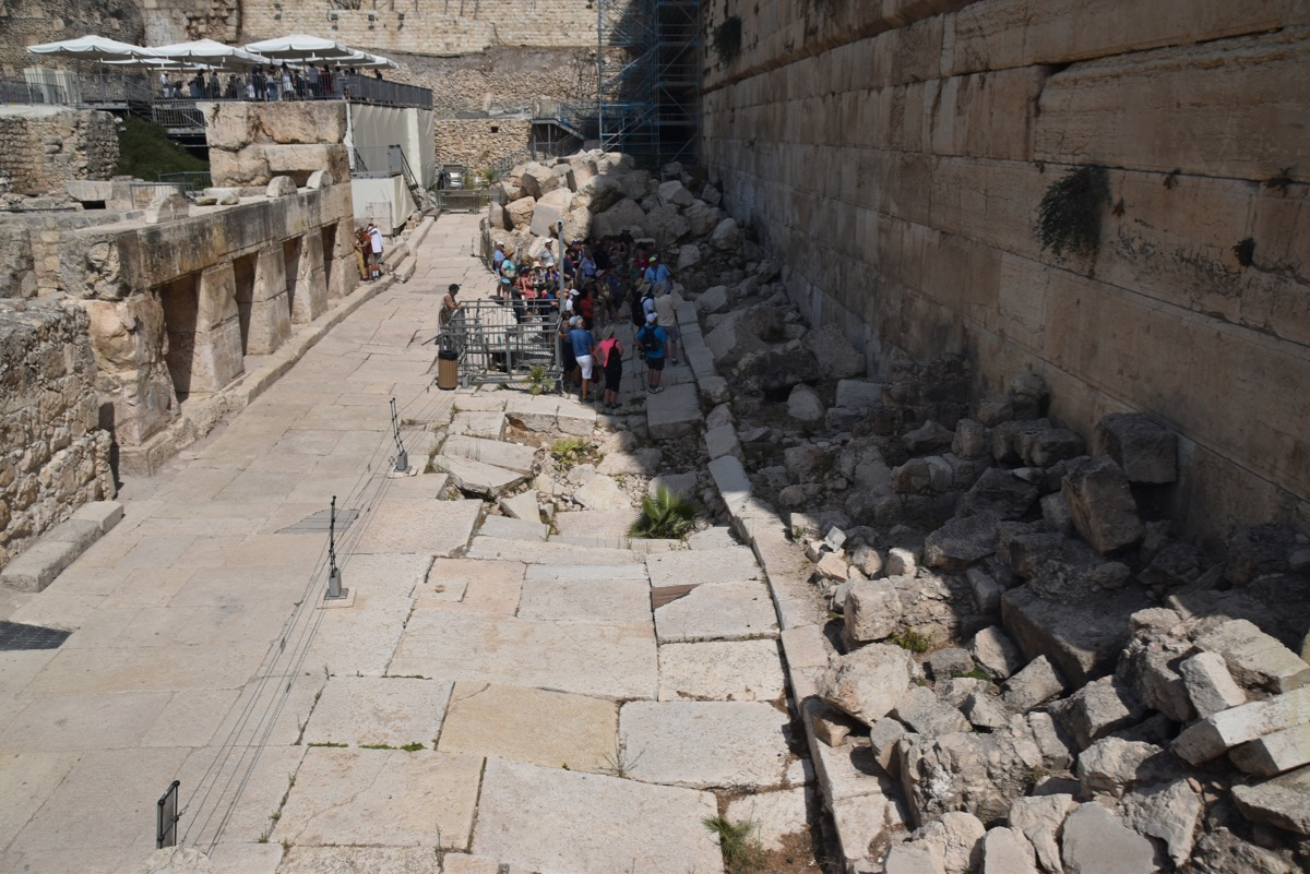 south wall excavations - Jerusalem