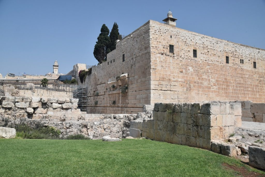 South wall excavations Jerusalem Sept 2019 Biblical Israel Tour with John DeLancey