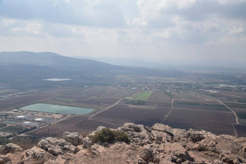 Jezreel Valley Sept 2019 Biblical Israel Tour with John DeLancey