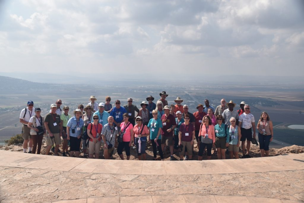 Nazareth Precipice Sept 2019 Israel Tour Group, with John DeLancey