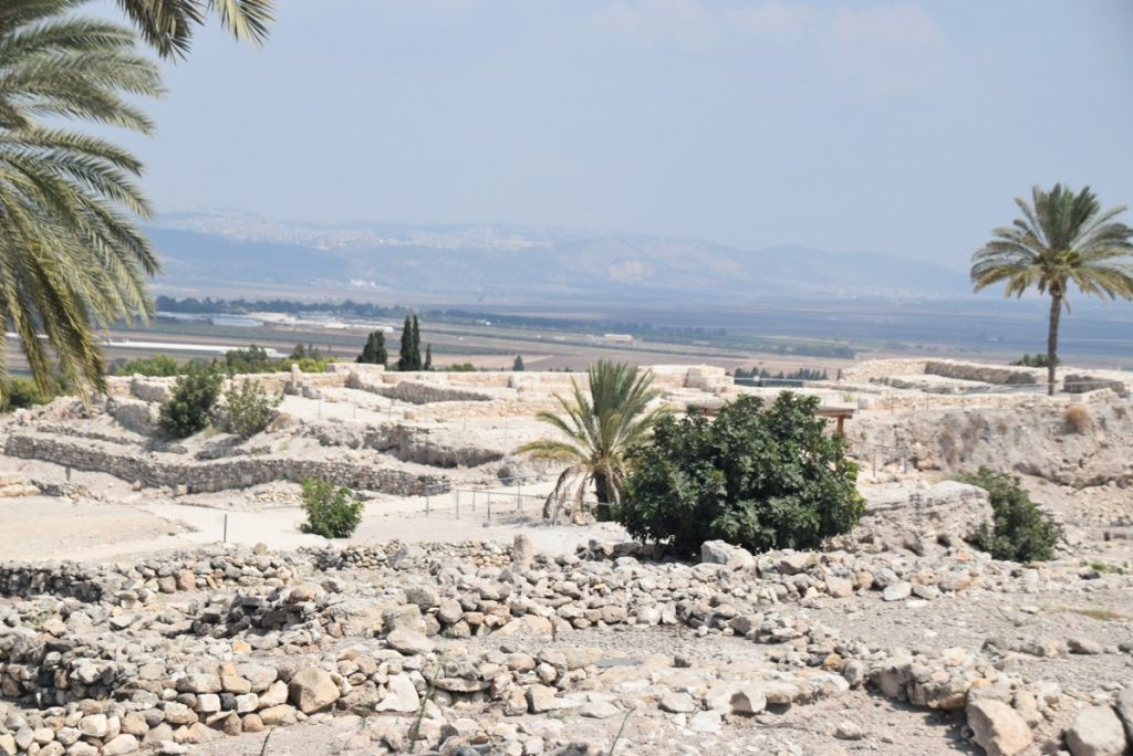 Tel Megiddo Sept 2019 Biblical Israel Tour with John DeLancey
