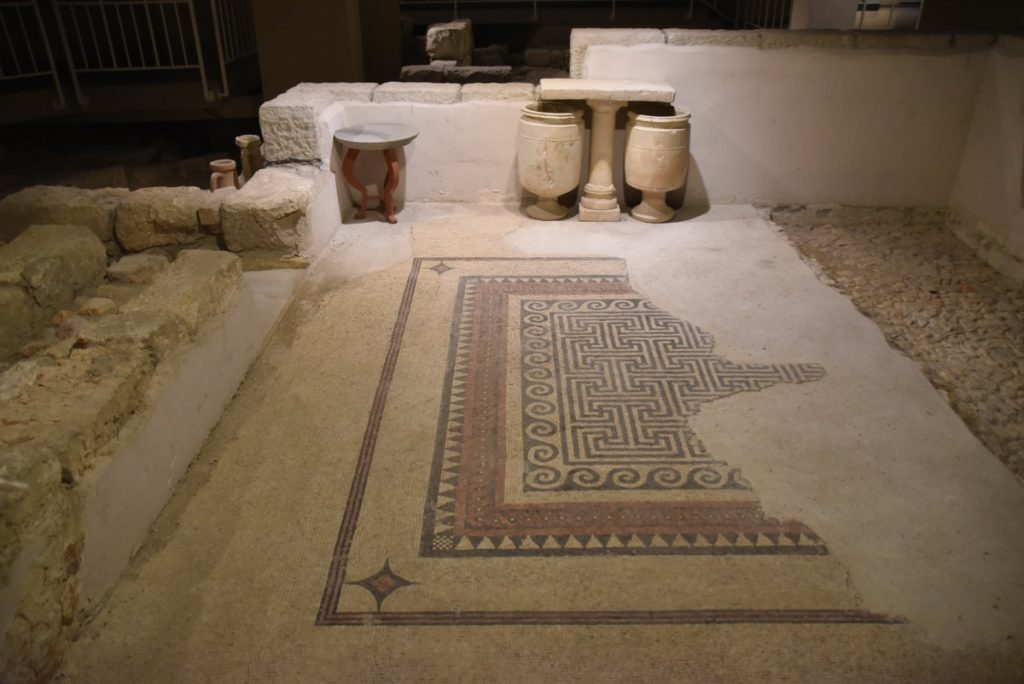Herodian Mansion Sept 2019 Biblical Israel Tour with John DeLancey