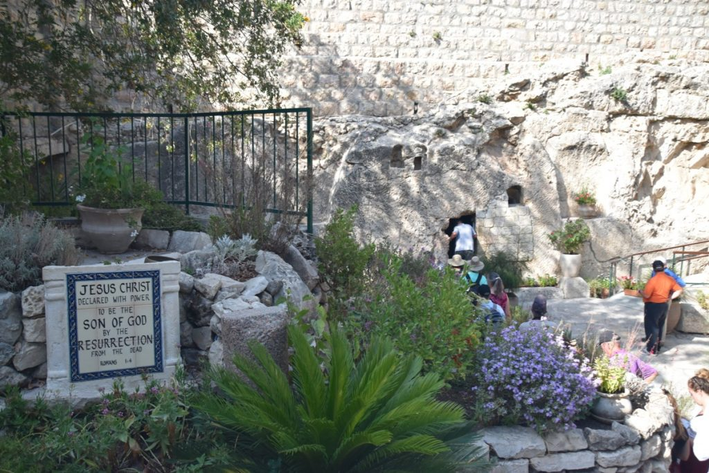 Garden Tomb Jerusalem Sept 2019 Biblical Israel Tour with John DeLancey