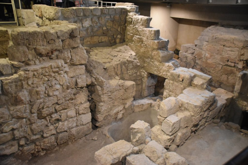 Herodian Mansion Sept 2019 Biblical Israel Tour with John DeLancey