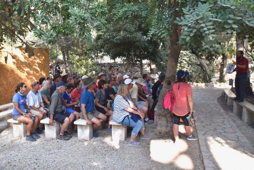 Garden Tomb Jerusalem Sept 2019 Israel Tour Group, with John DeLancey