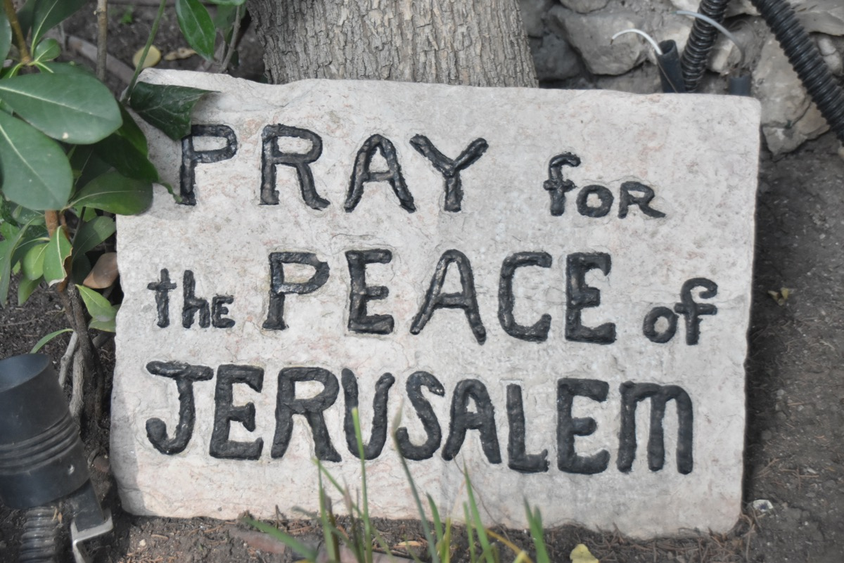 Pray for Peace of Jerusalem