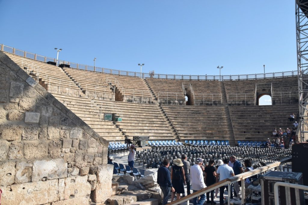 Caesarea Sept 2019 Biblical Israel Tour with John DeLancey