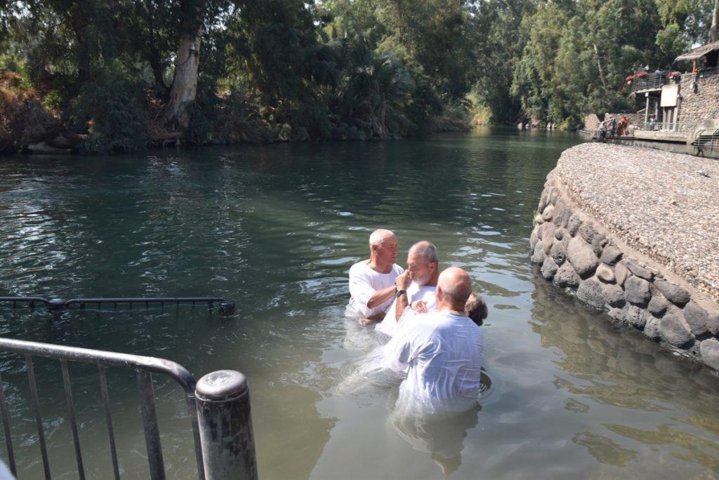 Yardenit Sept 2019 Biblical Israel Tours and John DeLancey