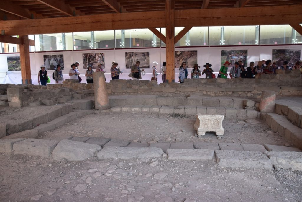 Magdala Sept 2019 Biblical Israel Tours and John DeLancey