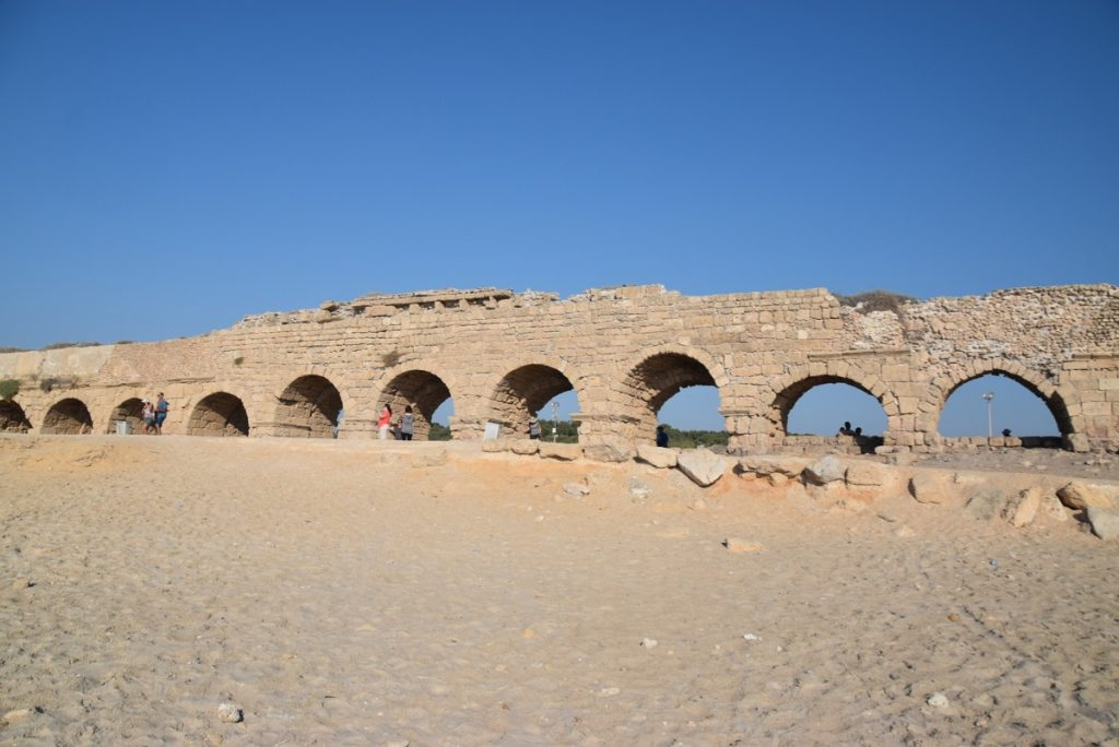 Caesarea Sept 2019 Biblical Israel Tour with John DeLancey