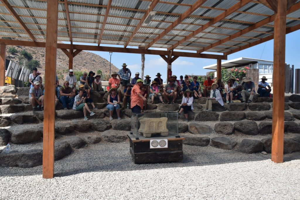 Magdala Sept 2019 Israel Tour Group, with John DeLancey