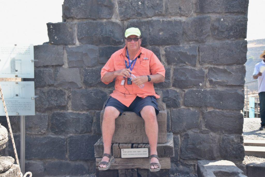 Chorazin Sept 2019 Biblical Israel Tours and John DeLancey