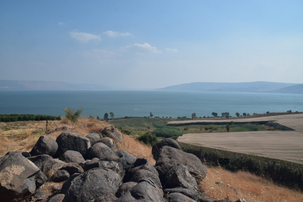 Mt. of Beatitudes Sept 2019 Biblical Israel Tours and John DeLancey