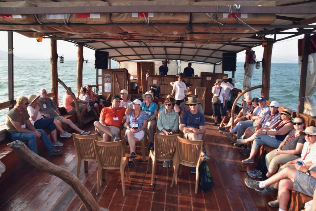 Sea of Galilee Sept 2019 Biblical Israel Tours and John DeLancey