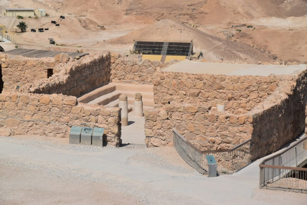 Masada Sept 2019 Israel Tour with John DeLancey