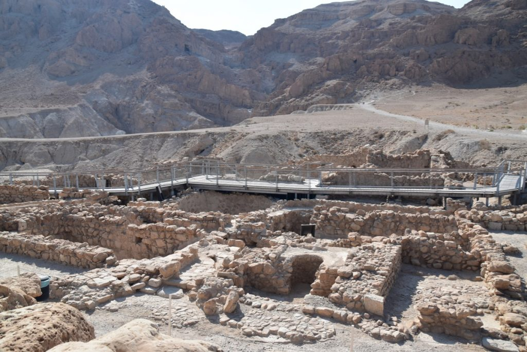 Qumran Sept 2019 Israel Tour with John DeLancey