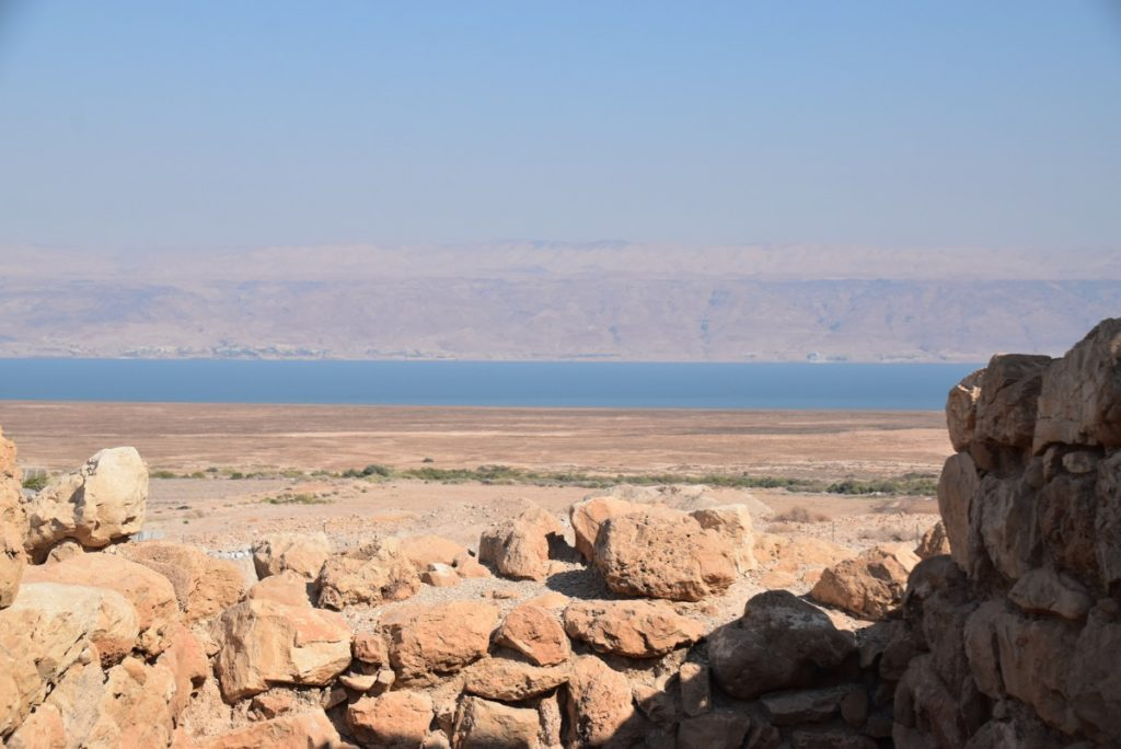 Qumran Sept 2019 Israel Tour with John DeLancey