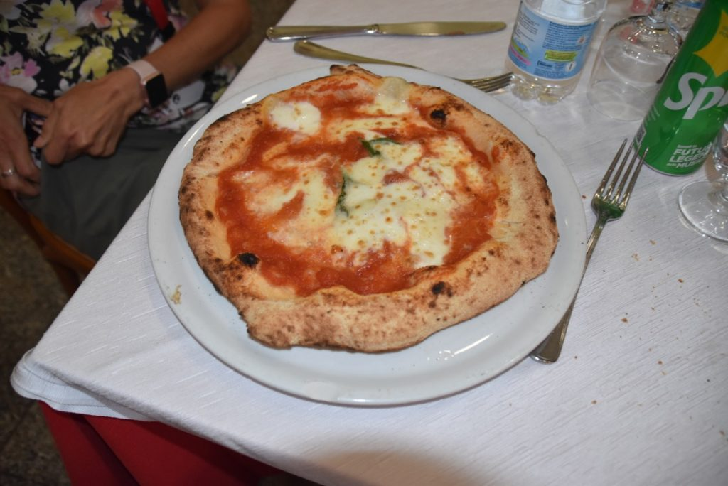 Italian pizza 2019 Greece Tour with John DeLancey