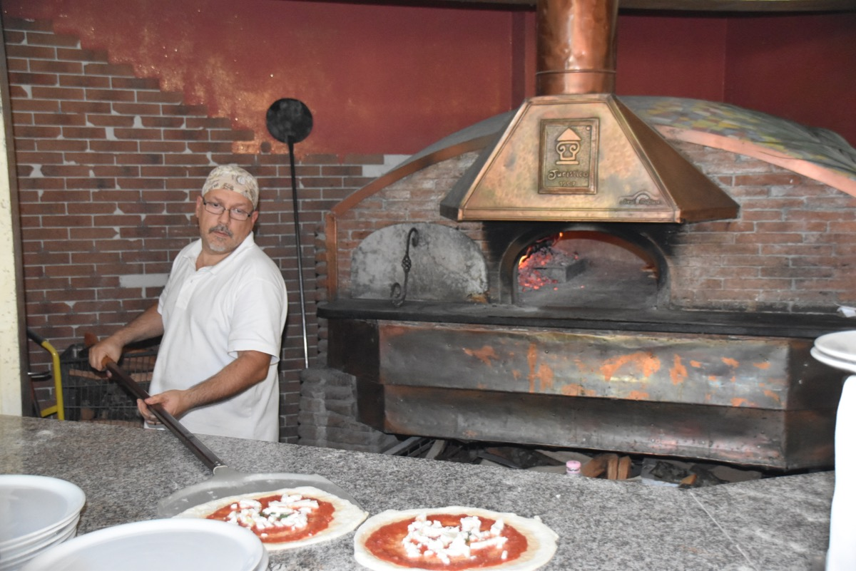 Pizza in Pompeii