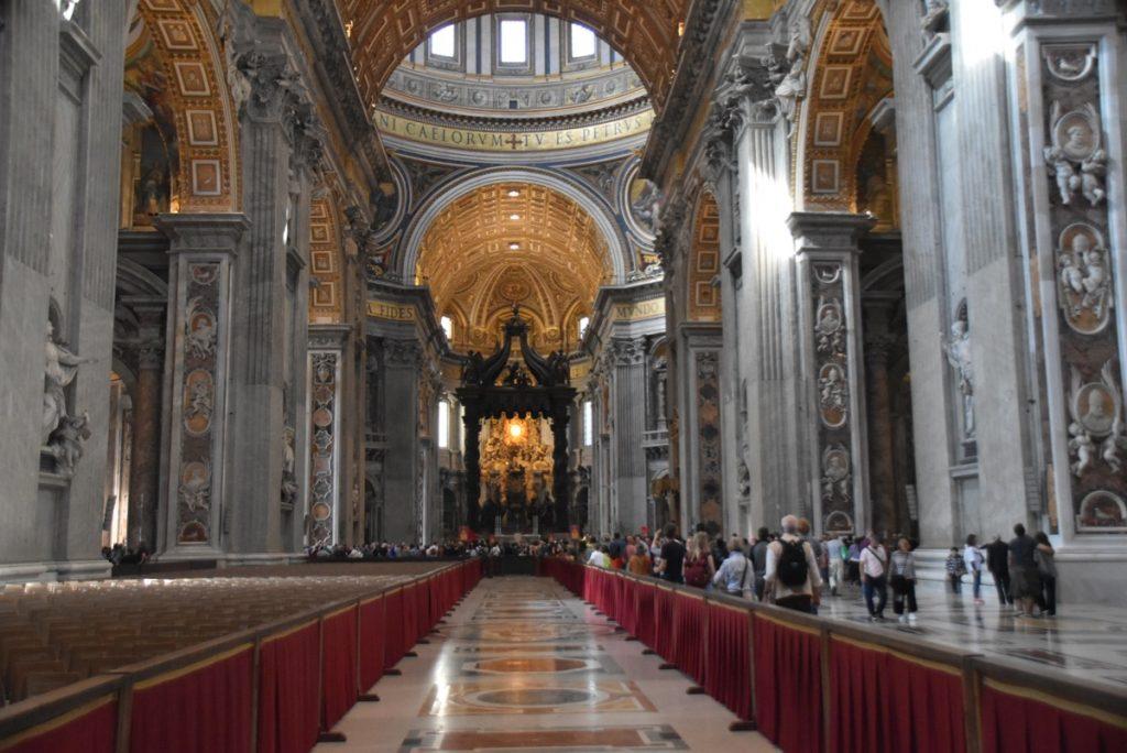 Rome St. Peter's Church Greece Tour Rome Tour 2019 with John DeLancey