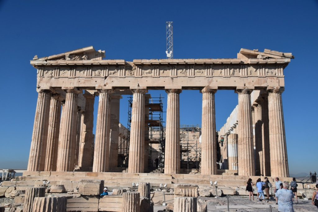 Athens Parthenon Acropolis Greece 2019 Tour with John DeLancey