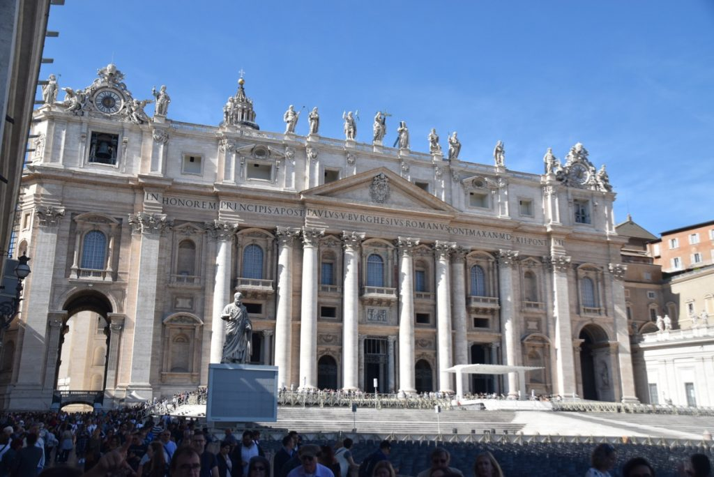 Rome St. Peter's Church Greece Tour Rome Tour 2019 with John DeLancey