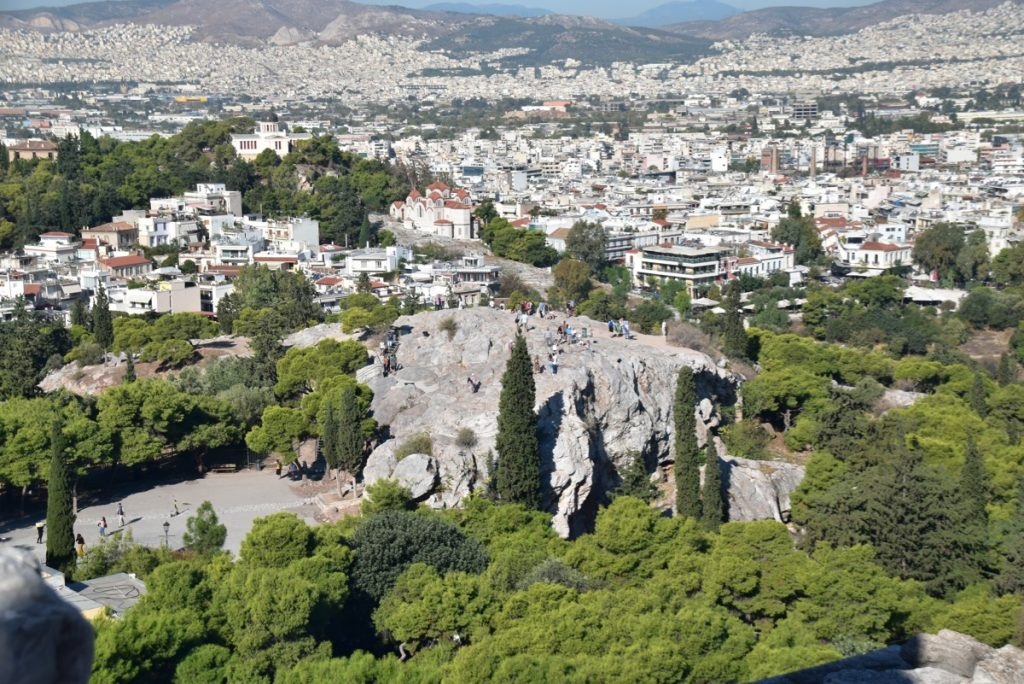 Athens Mars Hill Greece 2019 Tour with John DeLancey