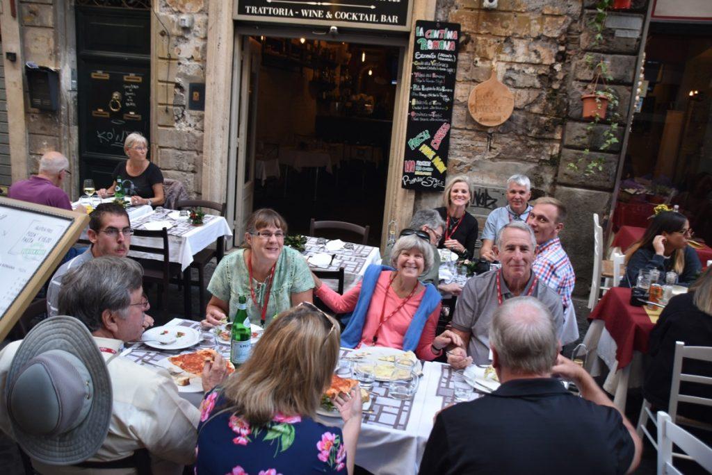 Rome St. Pizza Greece Tour Rome Tour 2019 with John DeLancey