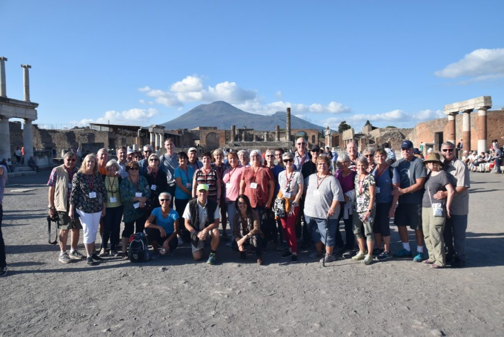 Pompeii Italy DeLancey Greece Tour 2019
