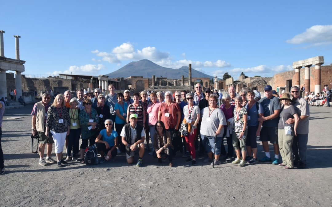 October 2019 Greece Tour (with Rome/Pompeii) – Day 11 Summary