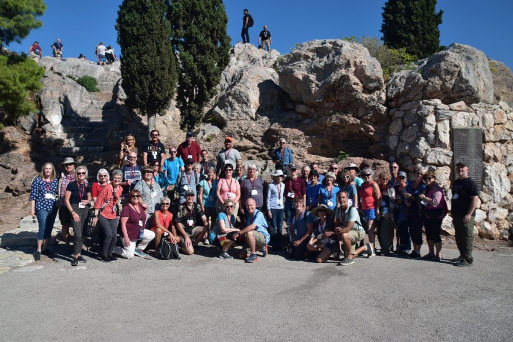 Athens Mars Hill Athens DeLancey Greece Tour 2019