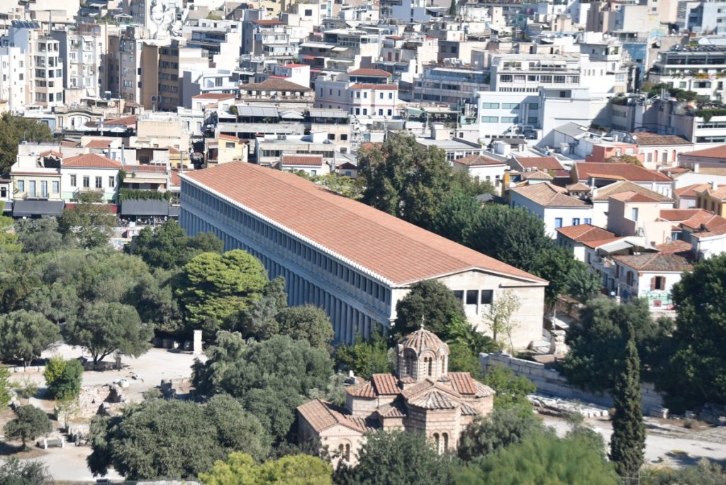 Athens Stoa Greece 2019 Tour with John DeLancey