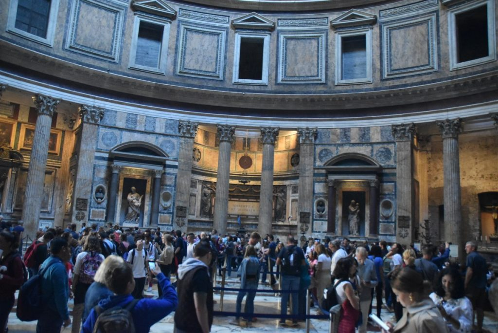 Rome Pantheon Tour Rome Tour 2019 with John DeLancey