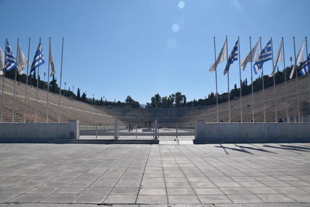 Athens Olympic stadium Greece 2019 Tour with John DeLancey