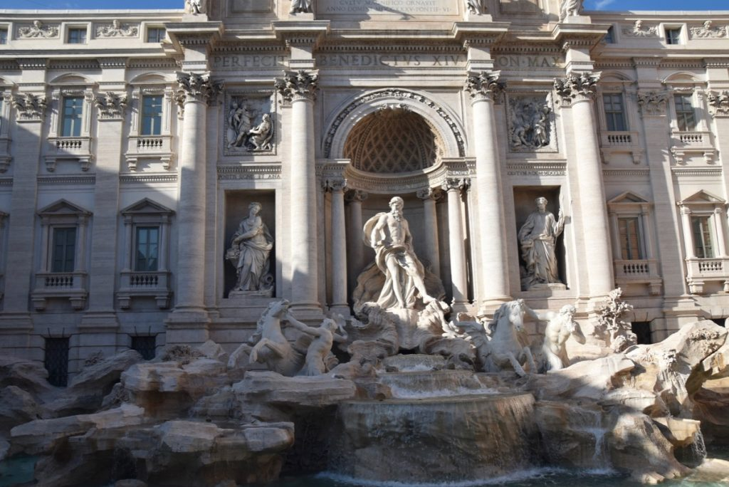 Rome Trevi Fountain Tour Rome Tour 2019 with John DeLancey