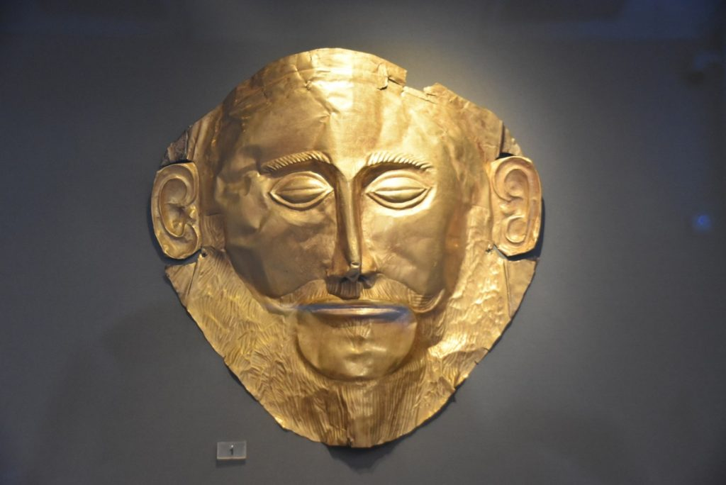 Athens Mask of Agamemnon Greece 2019 Tour with John DeLancey