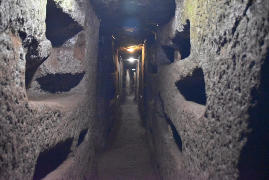 Catacombs Rome Greece Tour 2019 with John DeLancey