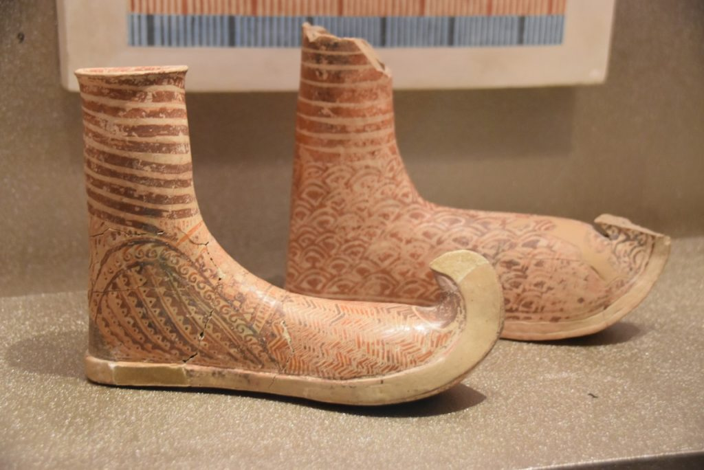 Athens pottery shoes Greece 2019 Tour with John DeLancey