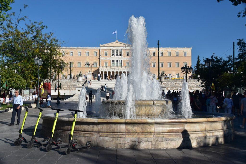 Athens Plaka Greece 2019 Tour with John DeLancey