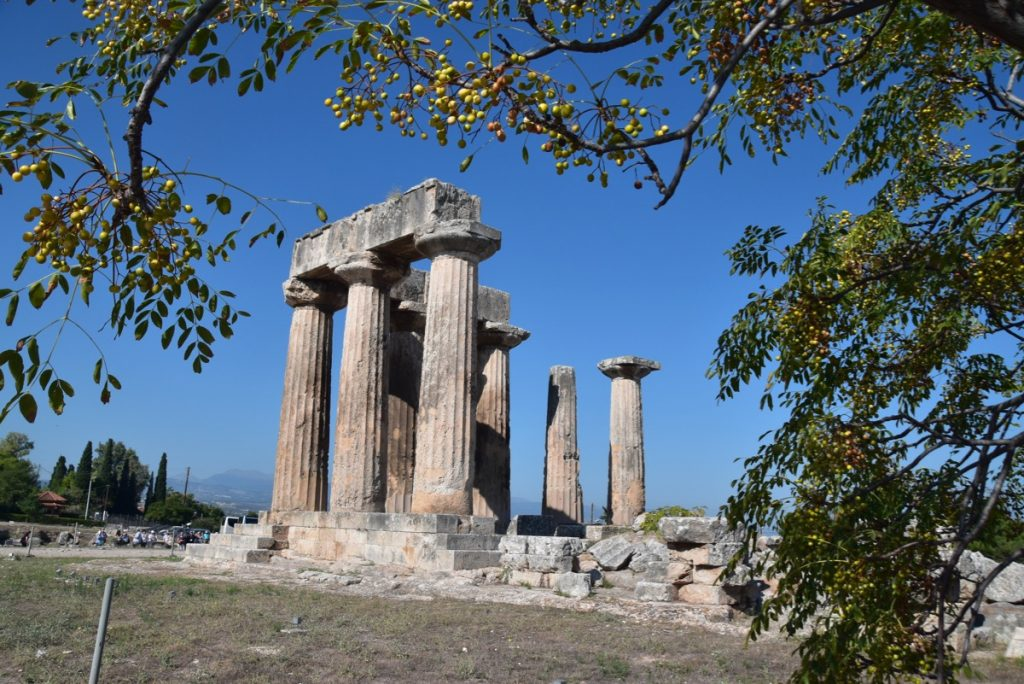 Corinth Apollo Greece Tour 2019 with John DeLancey and BIMT