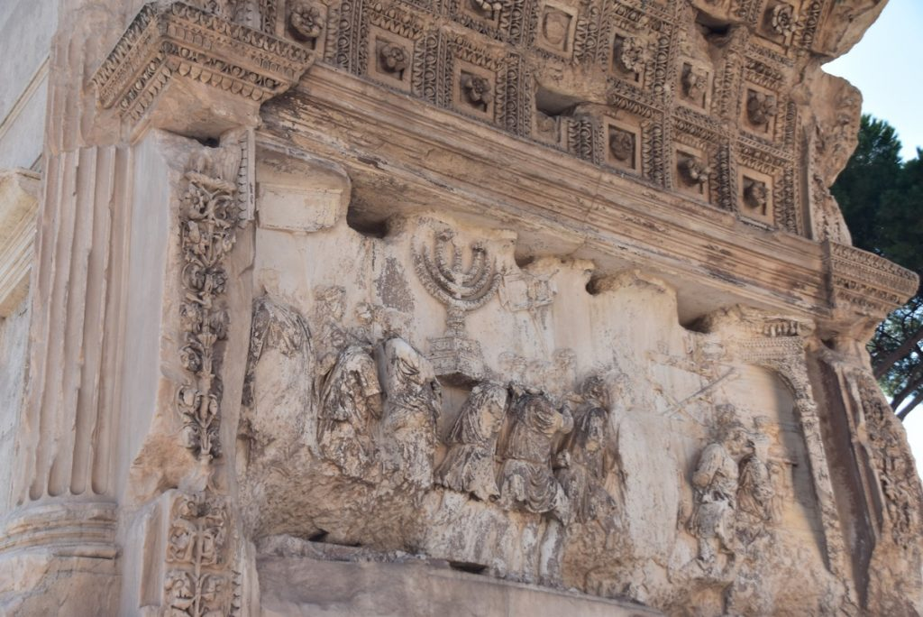 Titus Arch Rome Greece Tour 2019 with John DeLancey