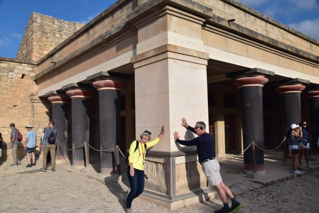 Knossos Palace Crete Greece Tour 2019 with John DeLancey