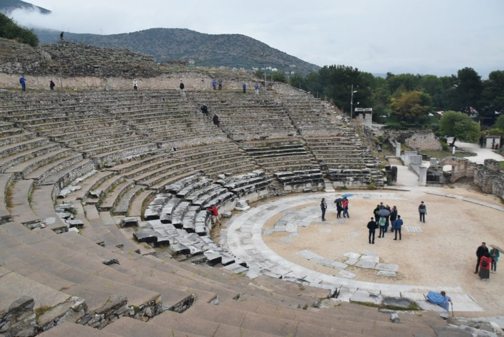 Philippi Oct 2019Greece Tour with John DeLancey BIMT