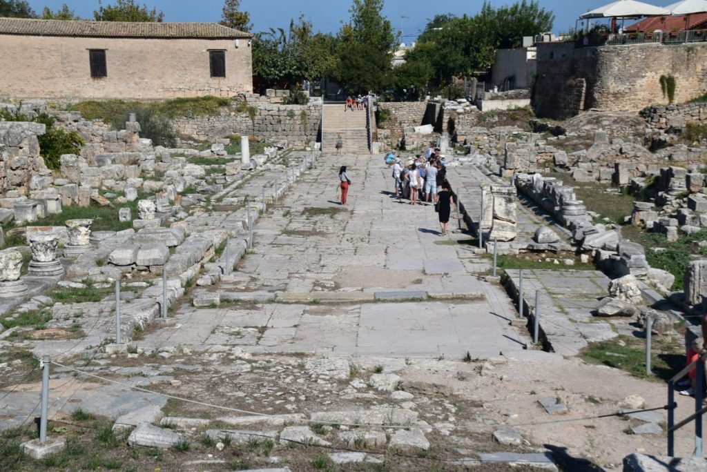 Corinth Greece Tour 2019 with John DeLancey and BIMT
