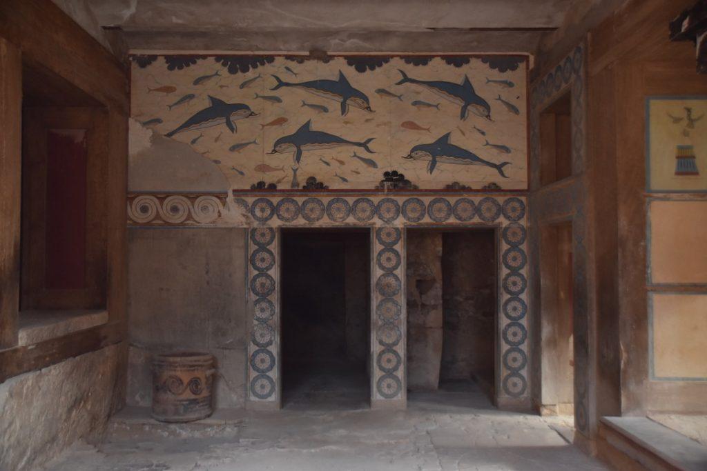 Knossos Palace Crete Greece Tour 2019 with John DeLancey